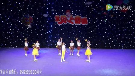 2017最新幼儿舞蹈视频《中国话》六一儿童舞蹈教学视频