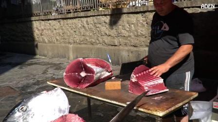 宰魚的艺术在西西里岛- 鮪鱼及枪鱼