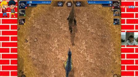 侏罗纪世界第037期:塔利卡尼龙 准噶尔翼龙 霸王龙恐龙世界大战侏罗纪世界公园.mp_超清
