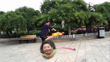 津门竹友五彩空竹队练习花絮