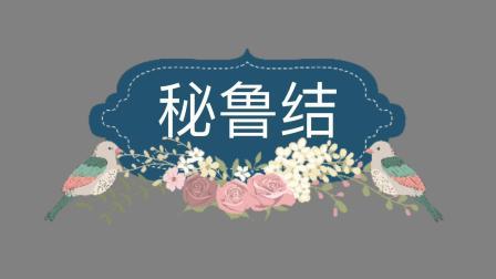 中国结基础结-秘鲁结教程 手工编绳手链基本编法教学