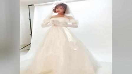 继苍井空、冲田杏梨之后,又一女神婚纱照曝光,太美了。