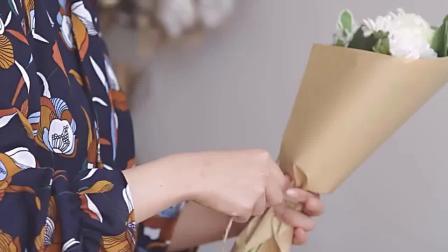 仿真花插花图片 丝网花荷花制作视频 丝网花玫瑰花的做法