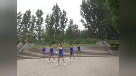 俏燕子健身队现代扇子舞---- 帝都 编舞:燕子苹