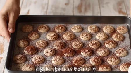 提拉米苏与马卡龙结合的美食甜点(蛋糕甜点教程食谱)