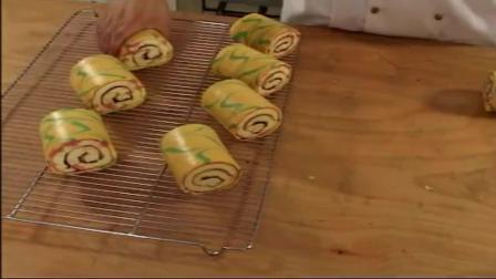 8寸戚风蛋糕的家常做法,好吃