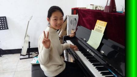 李诗扬弹钢琴  瓜沥琴行