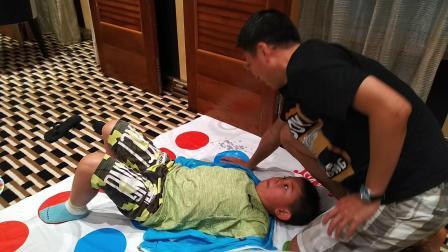 【6岁半】2-13哈哈跟爸爸在加勒比海游轮上玩亲子游戏VID_003743