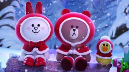 Happy Holidays with LINE FRIENDS