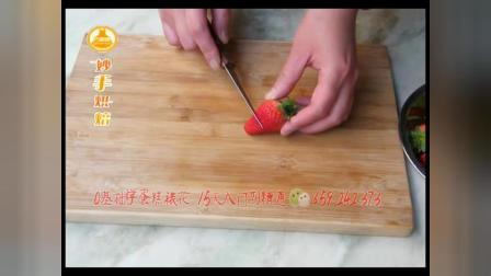 小鸟花朵场景蛋糕,韩式裱花,奶油霜裱花