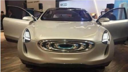 昶洧首款新能源SUV车型也已经亮相,外观和内饰都设计的独具匠心