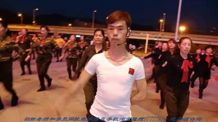 陶然水兵舞大课堂:羽新老师水兵舞基本步教学现场(长沙)