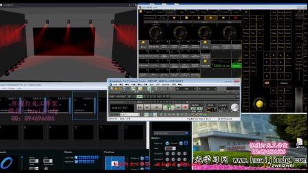 MA2声音、灯光、视频、同步演示