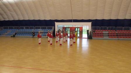 2017年安徽省老年健身秧歌比赛(池州队)参赛秧歌自选套路