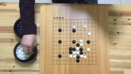 弈腾围棋99对弈12级VS10级复盘讲解