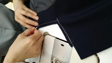 西服緔领子1