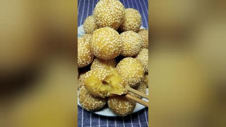 美食汇:芝麻南瓜球