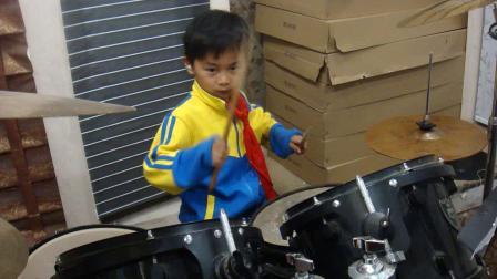 衢州开化佳音琴行 专业少儿打击乐培训 爵士鼓架子鼓非洲鼓 学员 徐睿谦-美丽的西班牙女郎