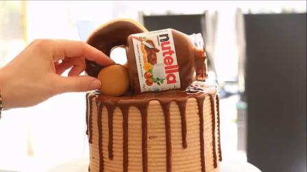 如何制作美味的花生酱海绵蛋糕(蛋糕甜点教程)