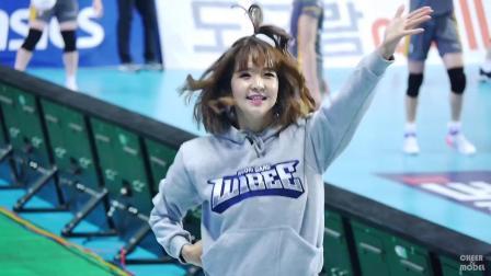 180130 韩国职业排球联赛 啦啦队美女 배시연 - H