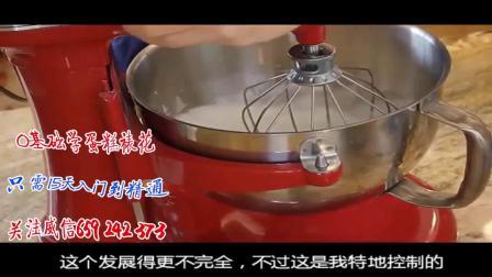 韩式裱花视频教程最全大树造型蛋糕红宝石蛋糕