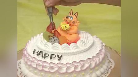 创意生日蛋糕 奶酪蛋糕的做法
