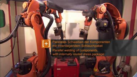 KUKA 机器人 使用于焊接工业