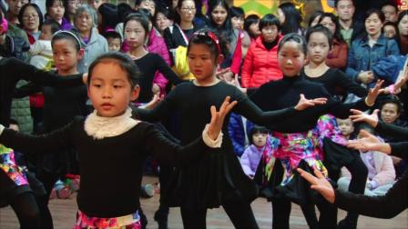 和平县舞成艺术培训中心~拉丁舞龙湖幼儿园铜牌班-3