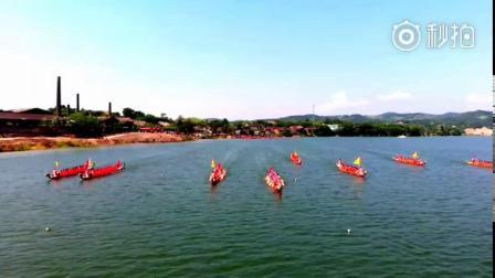 无人机航拍~永州市冷水滩区黄阳司端午节赛龙舟