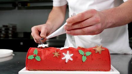 上海米其林一星餐厅Phenix主厨教制作圣诞蛋糕