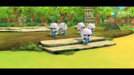 《超级小熊布迷》哇, 超级相机, 好多布迷出现打败绿石巨人
