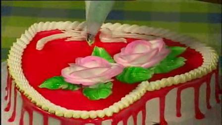 蛋糕裱花制做 水果蛋糕的做法