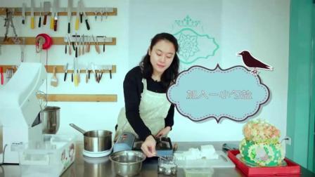 翻糖蛋糕学习 电饭锅蛋糕做法 香蕉蛋糕