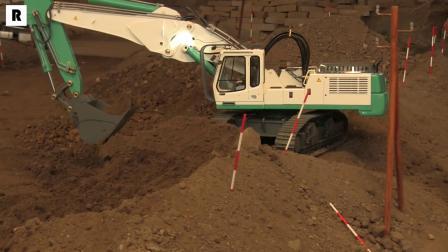 利勃海尔954挖掘机模型
