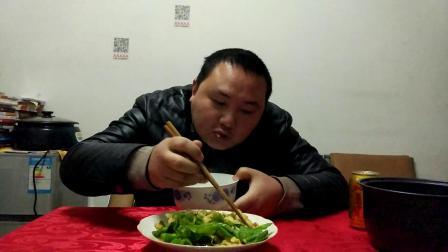 大葱炒鸡蛋怎么做好吃-直播吃播中国美食的做法大全