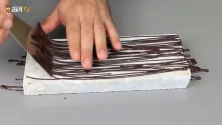 巧克力装饰插件制作教程,创意巧克力蛋糕,慕斯蛋糕装饰设计必备