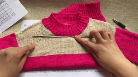 【秋之恋】详细各尺寸图解讲解毛线编织简单方法