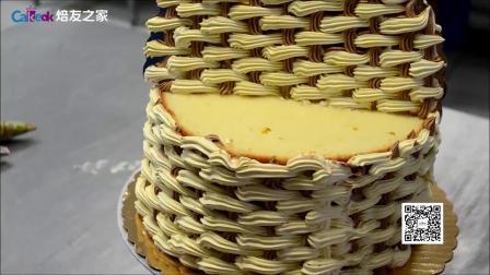 焙友之家丨3D花篮蛋糕
