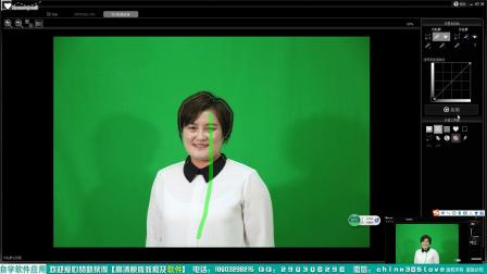 一键蓝背景绿背景抠图软件Recomposit中文教程