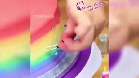 抹圆型蛋糕胚之裱花蛋糕电压力锅怎样做蛋糕