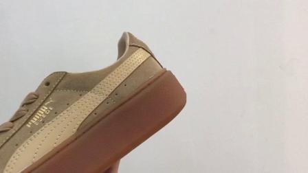 虎扑版本 渠道正品 Puma Suede platform 彪马 蕾哈娜二代 363559-03 厚底松糕鞋 男女鞋