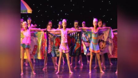 内江市舒婷舞蹈培训学校   舞蹈《阳光沙滩》舞向未来