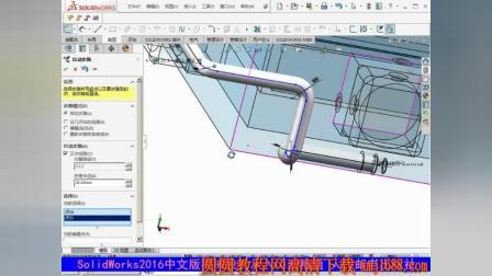 solidworks2016 管筒设计实例