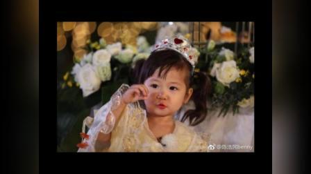 陈浩民父爱爆棚,远在横店送三女儿生日祝福!小丫头长的太可爱!