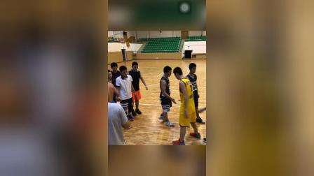 2017年温州市绣山中学篮球队训练,比赛集锦