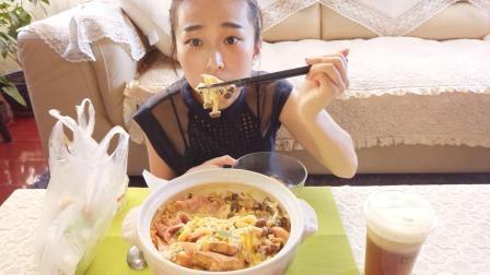 【中国吃播】吃播七七~韩式火锅+小蛋糕+特产+零食_美食圈_生活