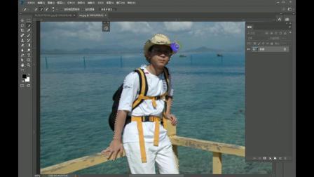 photoshop cc2018 04快速选择工具