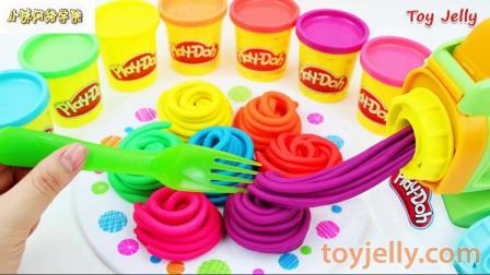 如何制作彩色水果蛋糕魔术贴切割婴儿玩具和微波炉儿童玩具用具