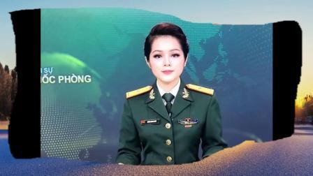 越南军事频道女主持人生活照,青春活力