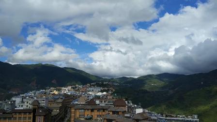 绿春县城延时摄影
